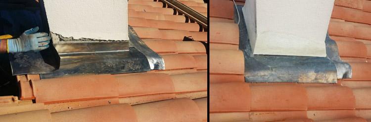 etancheite plomb rev tements modernes du toit. Black Bedroom Furniture Sets. Home Design Ideas