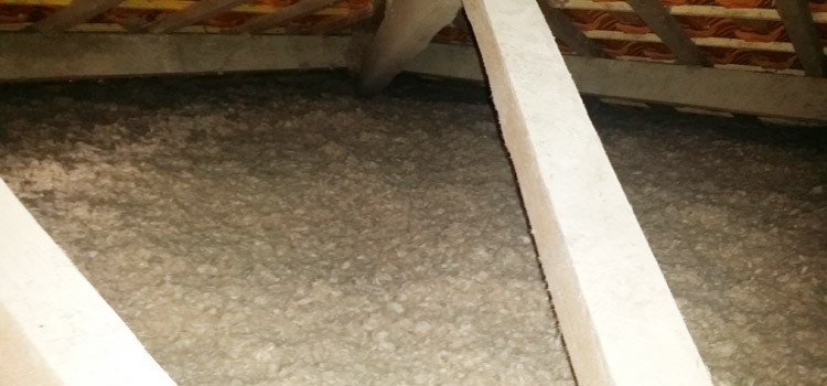 Isolation toiture en laine de roche