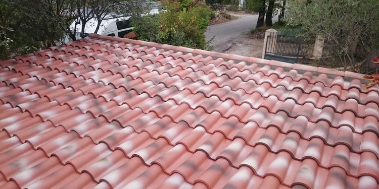 Réfection d'un abri toiture