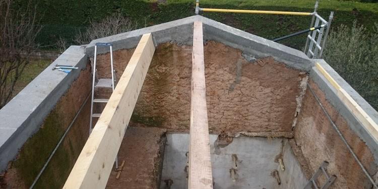 rénovation toiture de cabanon dans le Var