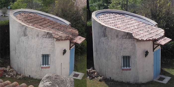 Nettoyage de toiture 2