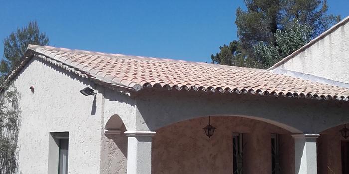 Rénovation de toiture dans les Alpes maritimes (OPIO)