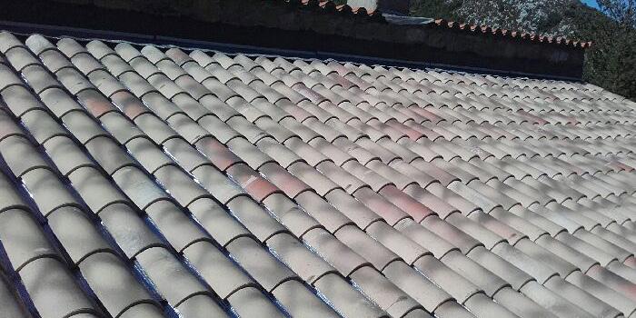 Réfection de toiture sur Fayence  – Var
