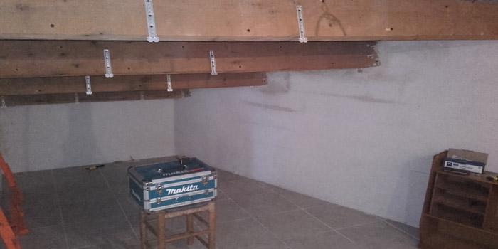 Isolation d'un plafond