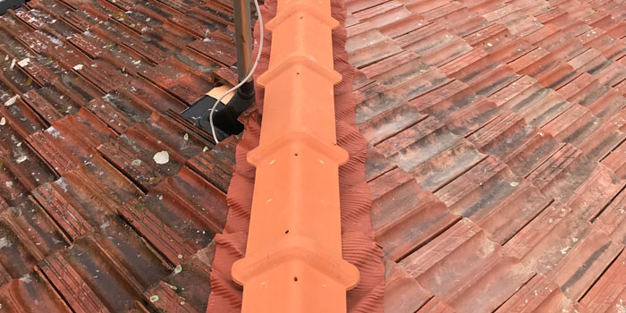 nettoyage et traitement de toiture