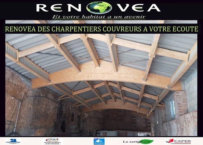 Rénovea des charpentiers couvreurs à votre écoute dans le Var et les Alpes Maritimes
