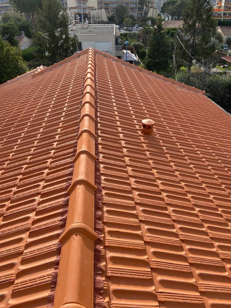 Réfection de toiture sur Mandelieu la napoule | Renovea