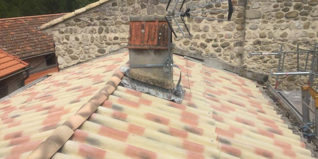 pose des PST sur toiture
