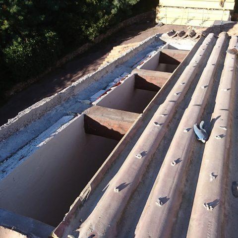 Démontage de toiture ancienne existante