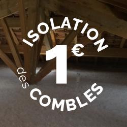 Isolation des combles pour 1 euro