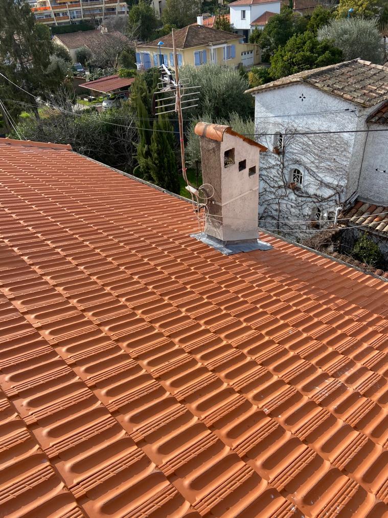 réfection de toiture à Mandelieu